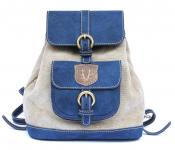 """Pembridge Backwards"" Rucksack Blau"