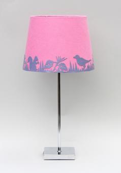"""Garden Beam"" Lampe Lila/Rosa"