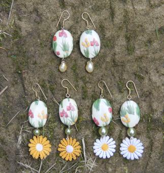 """Tulip Fields"" Ohrringe"