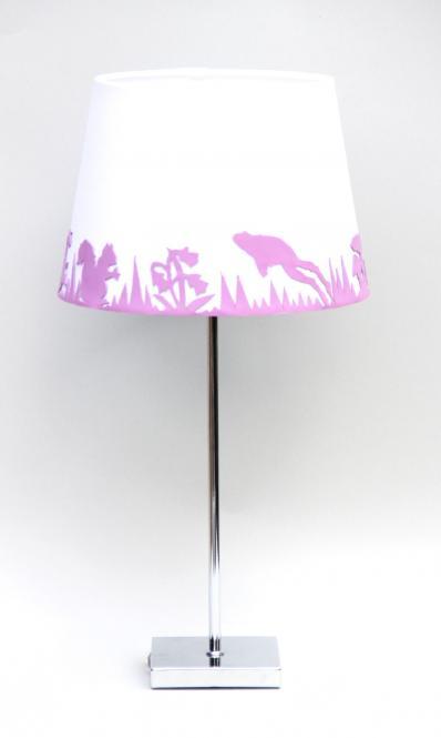 """""""Garden Beam"""" Lampe Rosa/Weiss"""