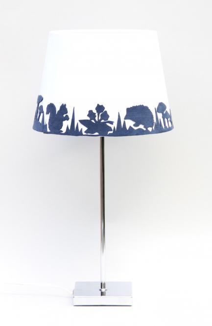 """Garden Beam"" Lampe Blau/Weiss"
