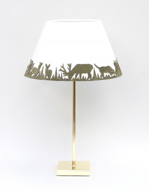 """""""Forest Light"""" Lampe Grün/Weiss"""