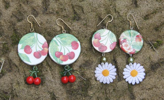 """Cherry Blossoms"" Ohrringe"