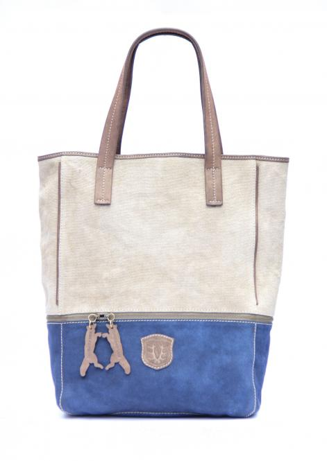 """Pembridge"" Shopper Blau"