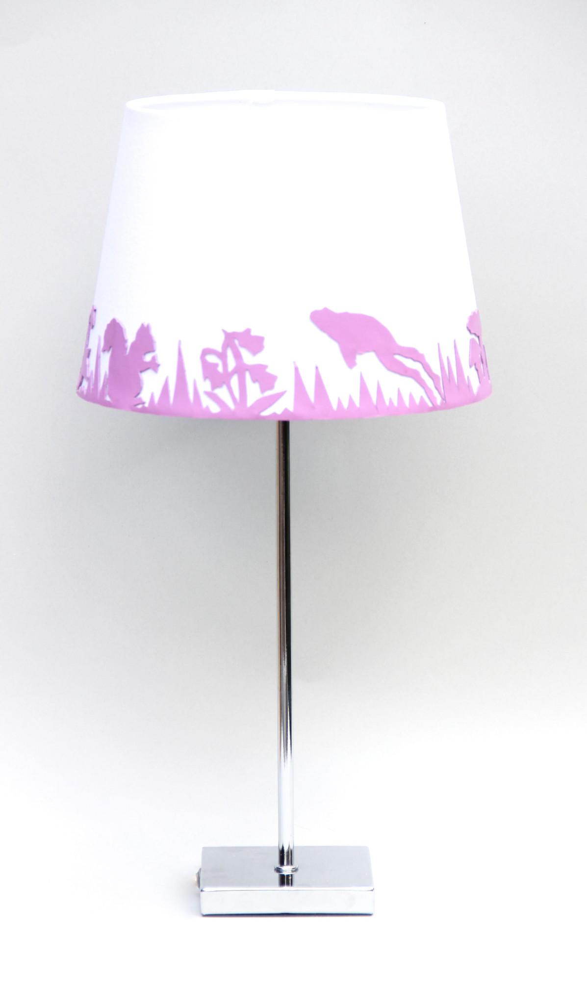 daniela von liebe garden beam lampe rosa weiss. Black Bedroom Furniture Sets. Home Design Ideas
